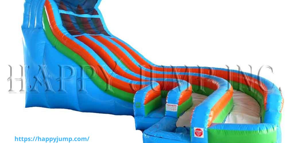 Long Wet Dry Inflatable Water Slide Jumper Water Slide For Sale Happyjumpinc Water Slides Inflatable Water Slide Blow Up Water Slide