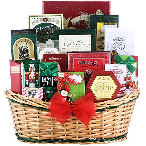 Greatarrivals Gift Baskets Tis The Season Large Gourmet Holiday Christmas Gift Basket Click