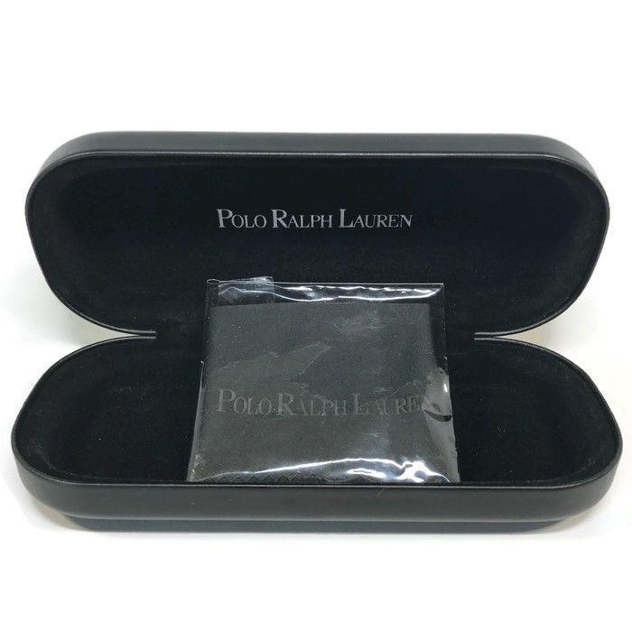 75c2665f4c24 Polo Ralph Lauren Black Sunglass/Eyeglass Case Only w/Cloth | eBay ...
