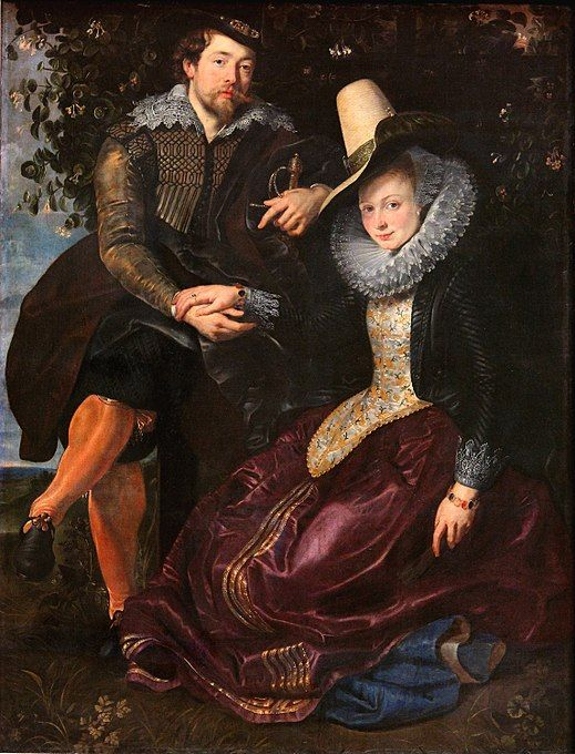 Rubens and Isabella Brant - Peter Paul Rubens Fine Art Reproduction Oil  Painting 1e2ac4f5d3f2