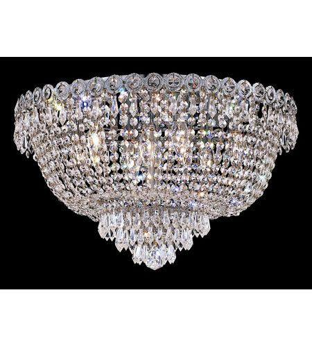 semi flush chandelier