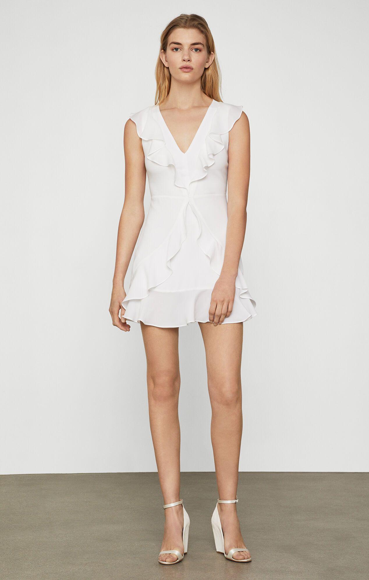 29++ Bcbg tyrah sleeveless ruffle dress ideas in 2021