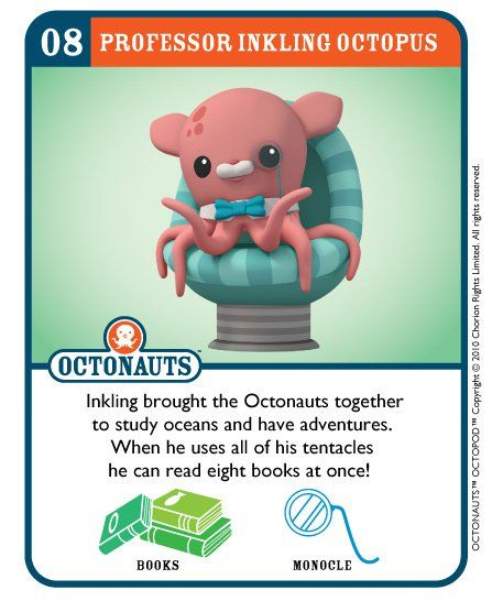 """Pinto, Peso's sibling said, """"Listen to Harvey the Squid(giant)!"""""""