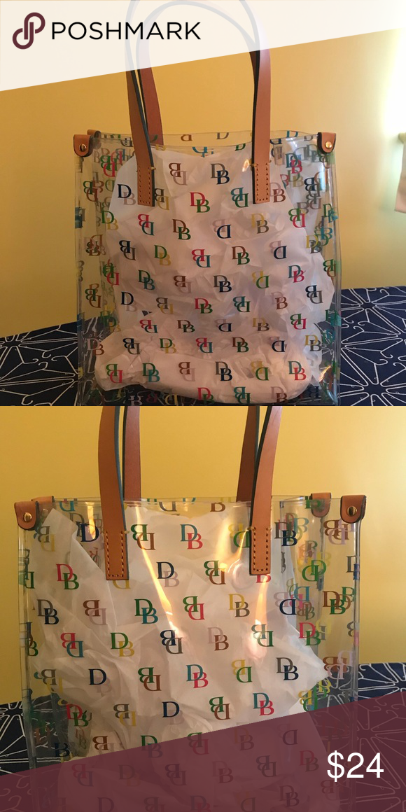 Dooney And Bourke Clear Lunch Bag