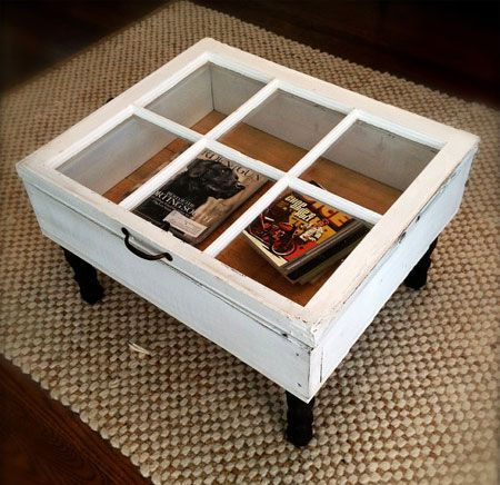 crafts using old windows | ... old or reclaimed window frames. Here ...
