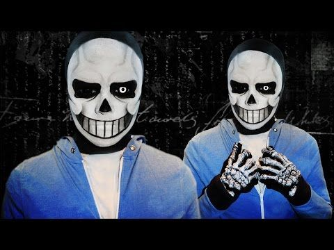 Sans , Undertale , Makeup Tutorial! , YouTube