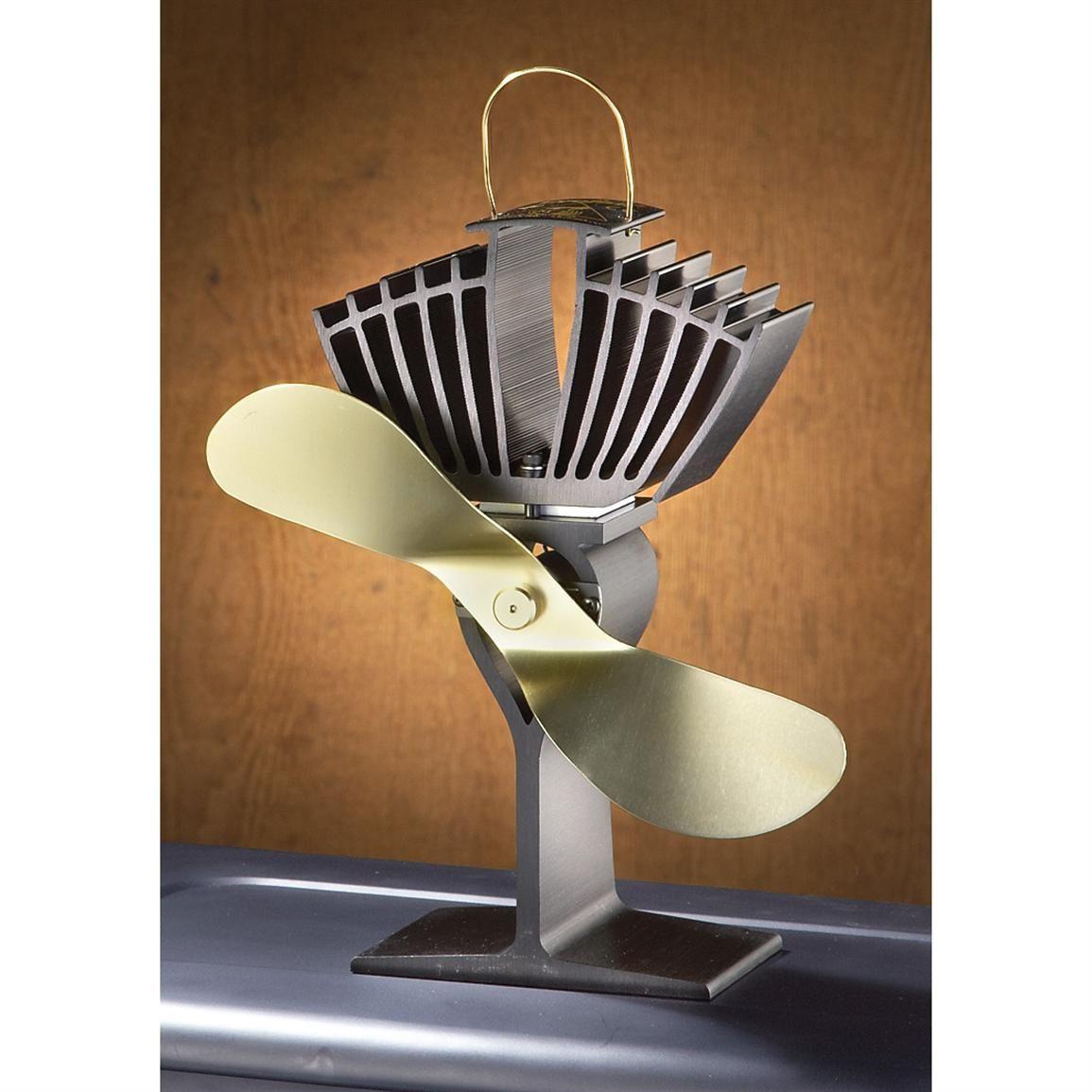 Ecofan Heat Powered Wood Stove Fan 216268 Accessories At Sportsman S Guide Wood Burning Stove Wood Stove Wood Heat