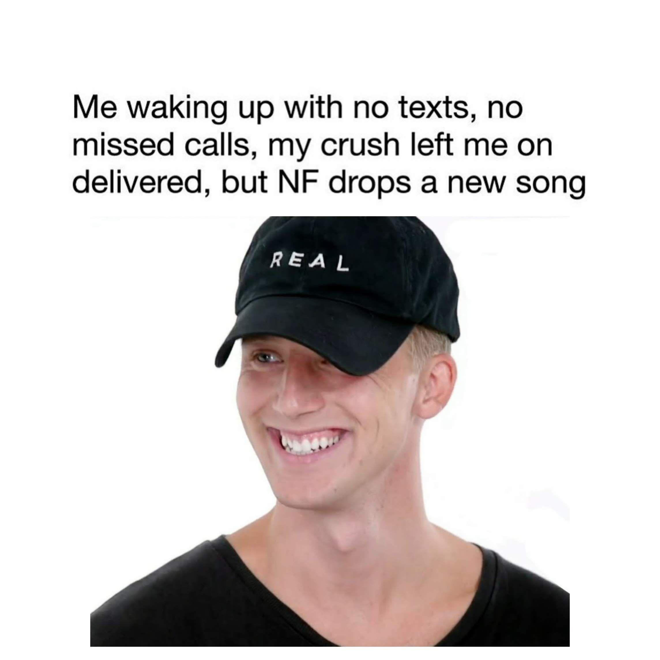 NF meme in 2020 Nf real music, Nf lyrics, Music memes