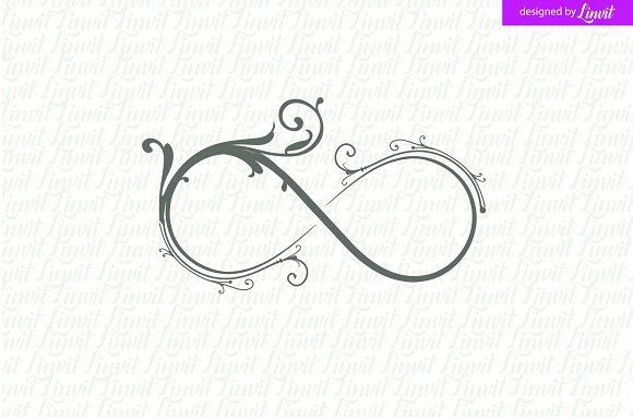 Infinity Wedding Logo  Luxury Logo  Creativework247