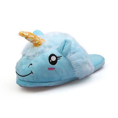 Photo of compleanno Marty?  Ciabatte Pantofole Unicorno colore bianco, Viola o azzurro ta…