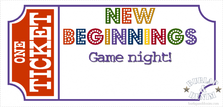 game night invitation template