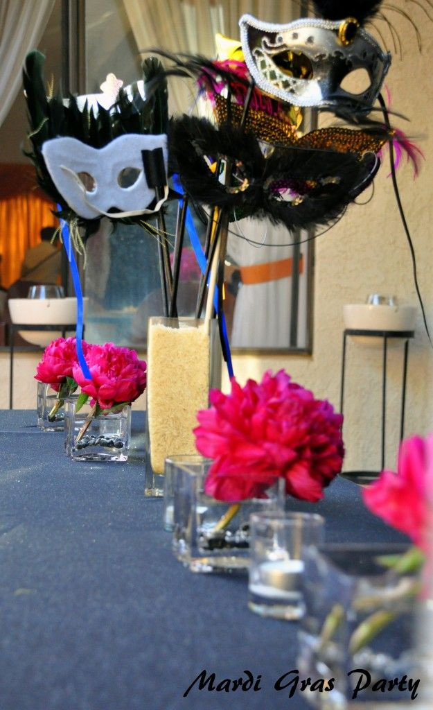 Decorations For A Masquerade Ball Diy Masquerade Party Decorations  Google Search  Moms Birthday
