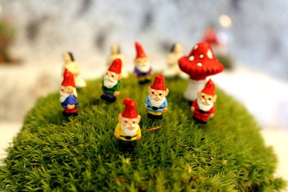 Wonderful Gnome Miniature Gnomes Yoga Girl Teeny Tiny Garden Gnome Wee Fairy Garden  Colors To Choose Without Post