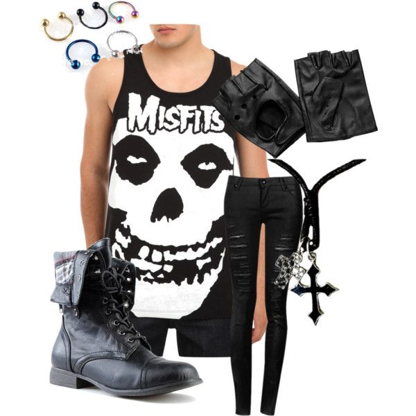 """""""Andy 'Sixx' Biersack Inspired Outfit"""" By Bvbfan-17 On"""