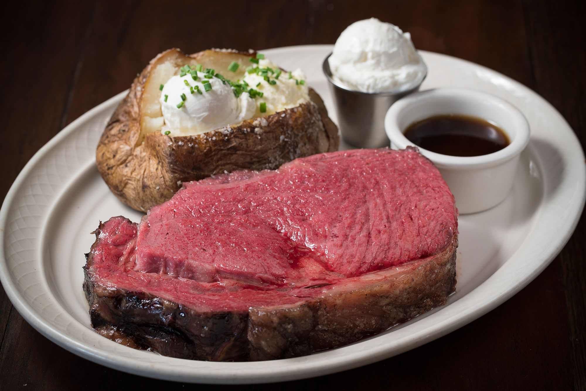20 Oz Prime Rib At The Steakhouse At Railroad Pass Beef Recipes Eat Food