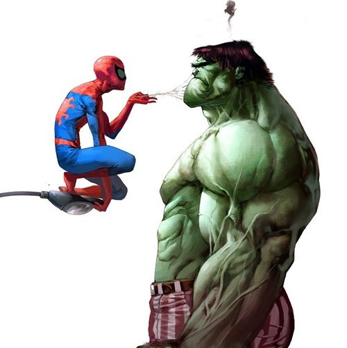 Spiderman Vs Hulk Dessin Hulk Hulk Marvel Dessin Spiderman