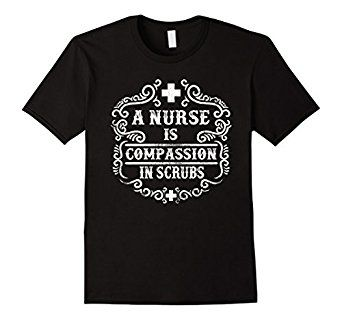 Amazon.com: Graphic Vintage Style Typo Funny Quotes Nurse T-shirt: Clothing