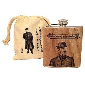 GIFTS FOR MEN: Gentlemen's Club Flask