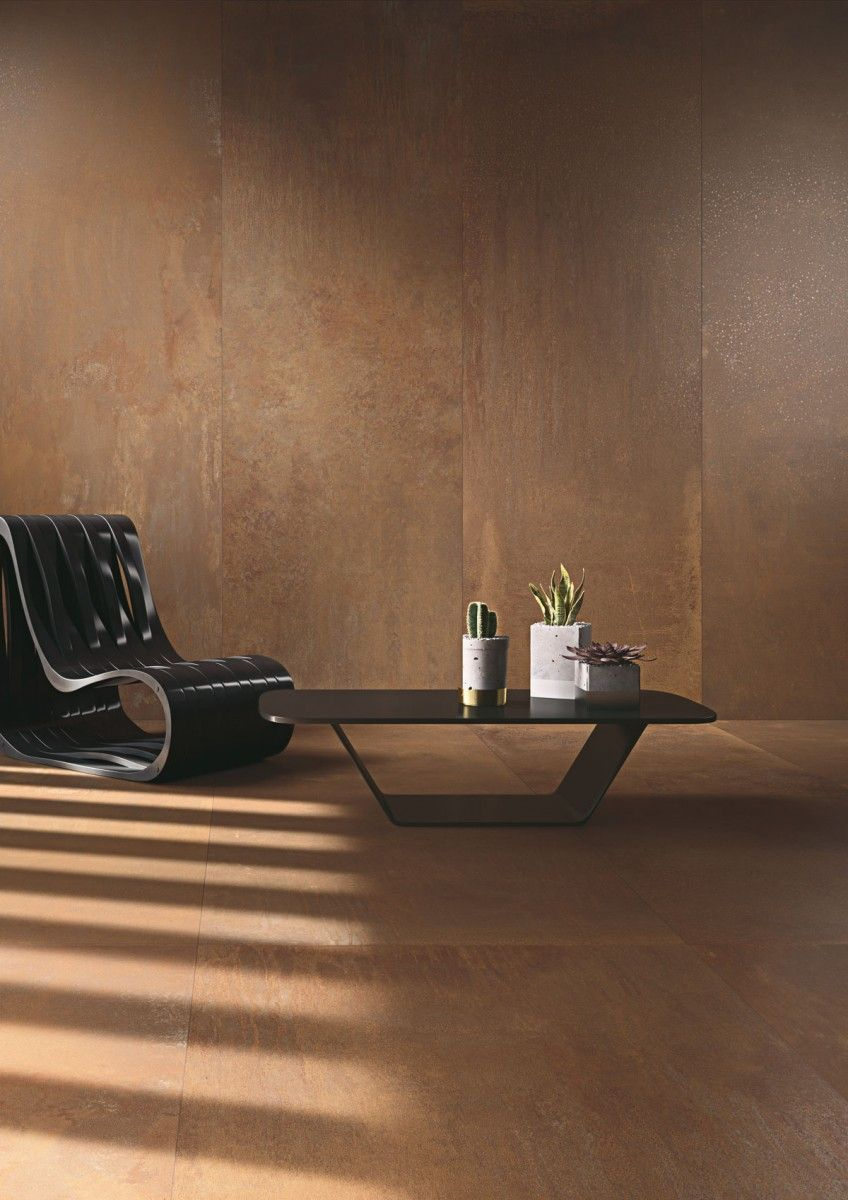 The new metal series thin porcelain tiles kerlite oxidation the new metal series thin porcelain tiles kerlite oxidation signorino tile gallery dailygadgetfo Gallery