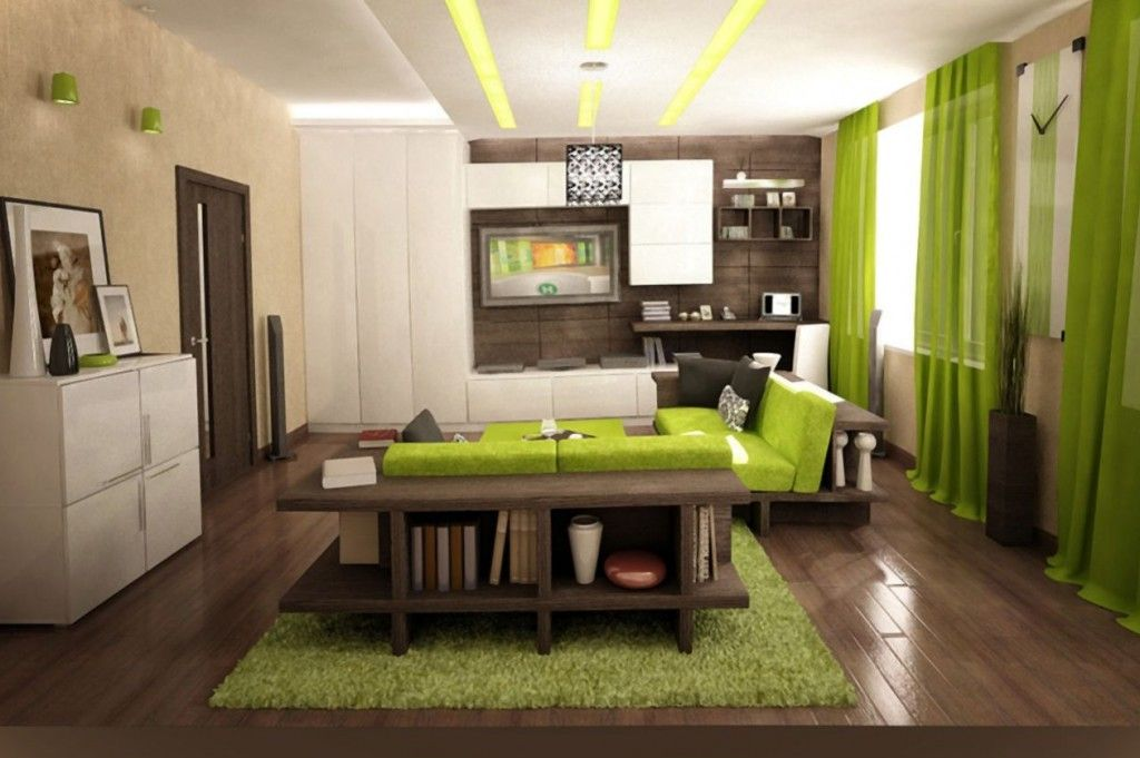 What Colours Go With Lime Green In Living Room