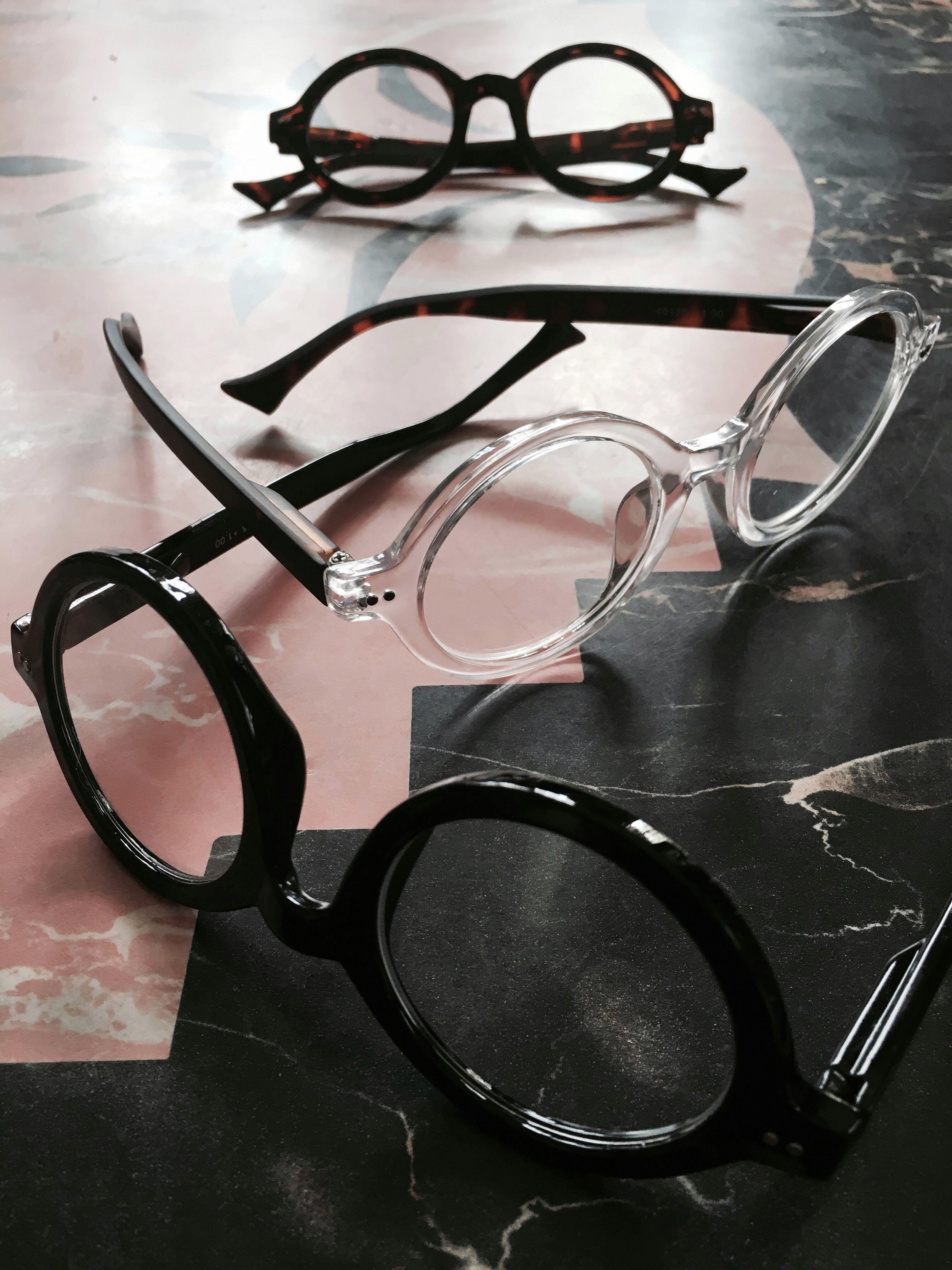 72c6e954df7 Grunge eyewear. Retro round reading glasses.