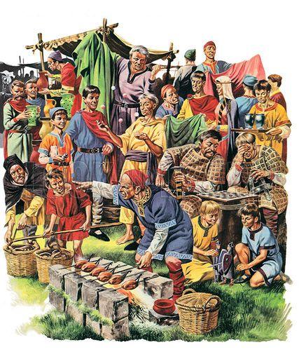 Normans, picture, image, illustration