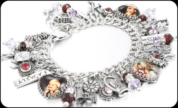 Legacy Bracelet Custom Charm Personalized And Keepsake Blackberry Designs Jewelry