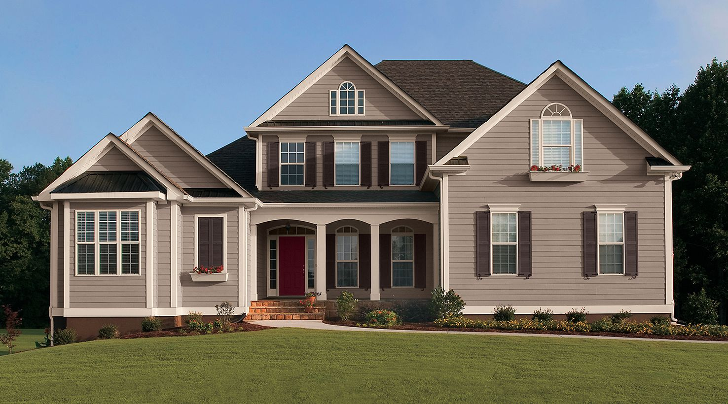 SW - IMG - Inspiration Gallery - Exterior Homes - Warm Neutral ...