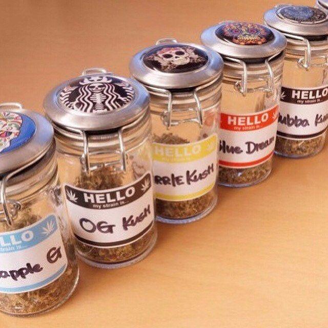 Zipgrinders Shared A New Photo On Etsy Stash Jars Jar Labels Jar