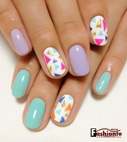 awesome Best Collection of Nail Art for June 2016 | Fashionte