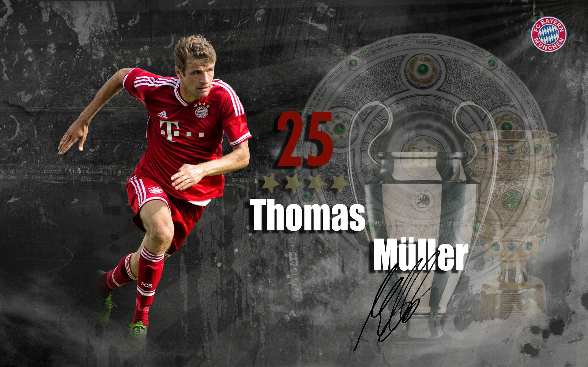David Beckham Wallpapers With Quotes Thomas Muller Wallpaper 2015 Thomas Muller Bayern