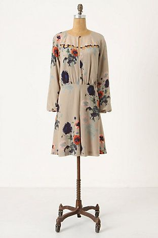 Anthropologie's Ottoman Poppies dress ... I could rock this!