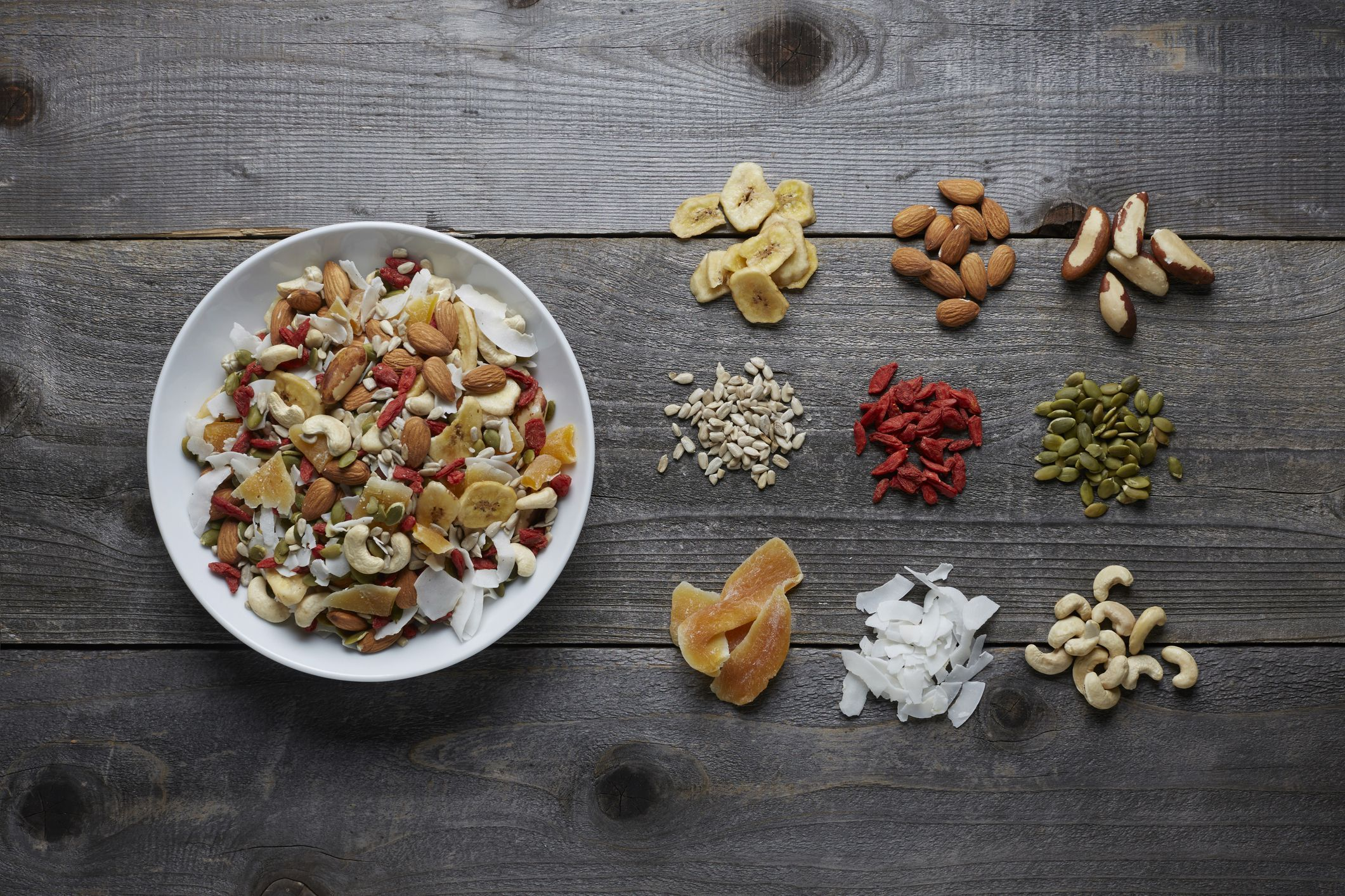 Raw Food Trail Mix With Superfoods