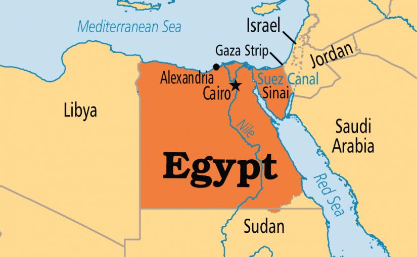 أين تقع مصر في قارة إفريقيا موسوعة Egypt Suez Cairo