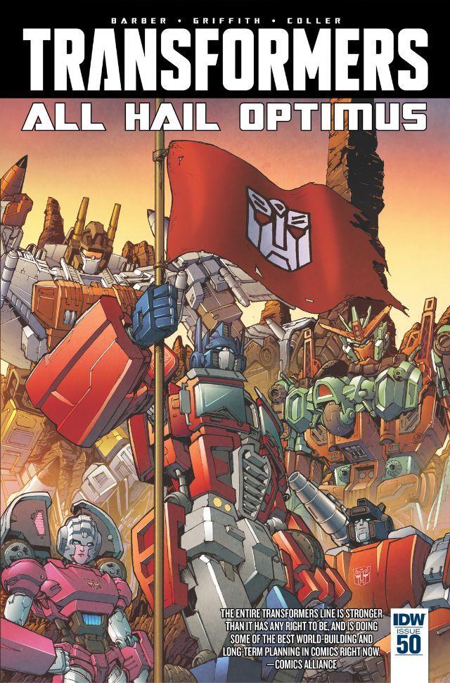 Transformers (2011) 50 IDW Release Date 2/24/2016