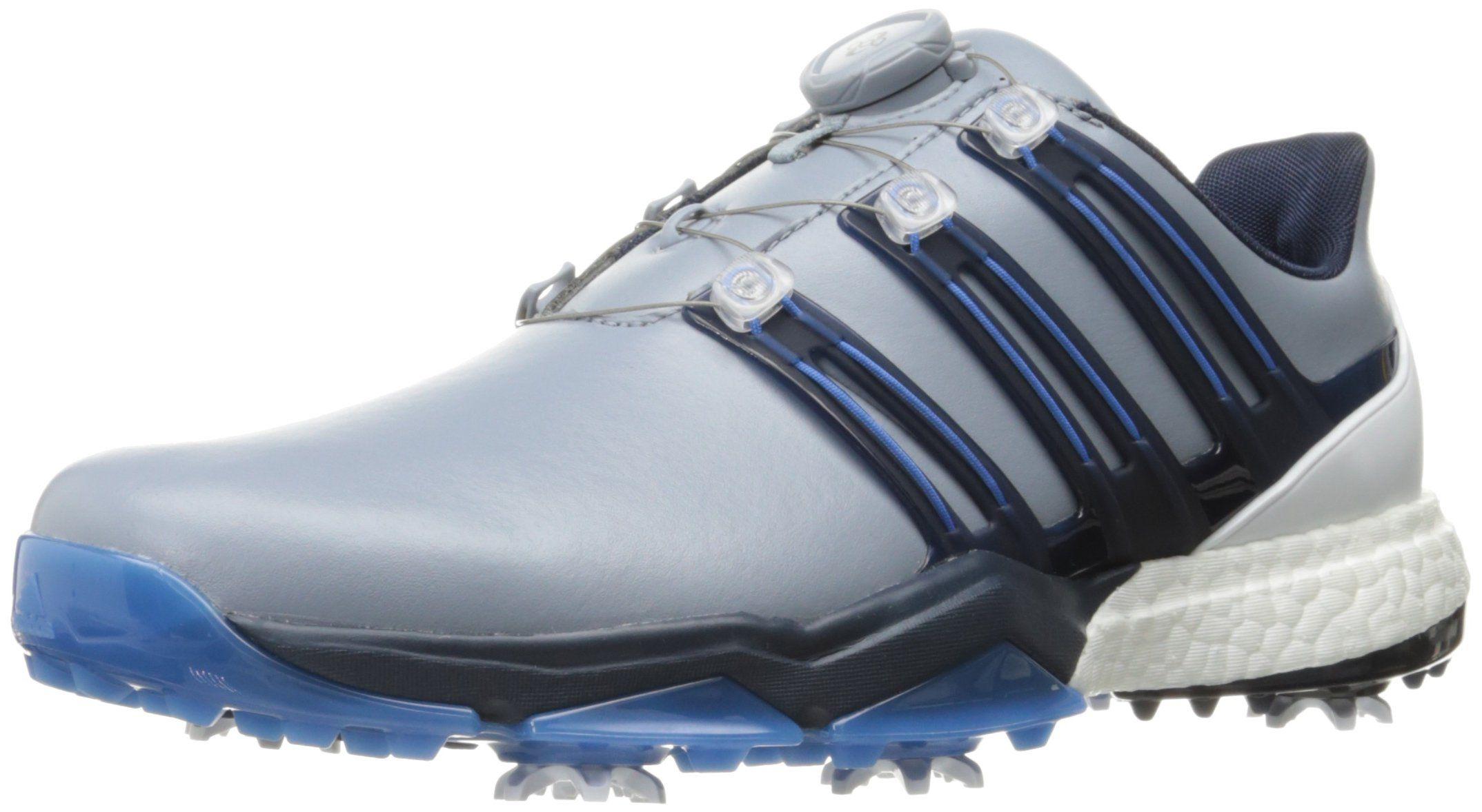 promo code ce5a6 e39ac Golf Shoes Mens  adidas Powerband BOA Boost Golf ShoesGrey10 M US -- You  could obtain extra information at the picture web link.