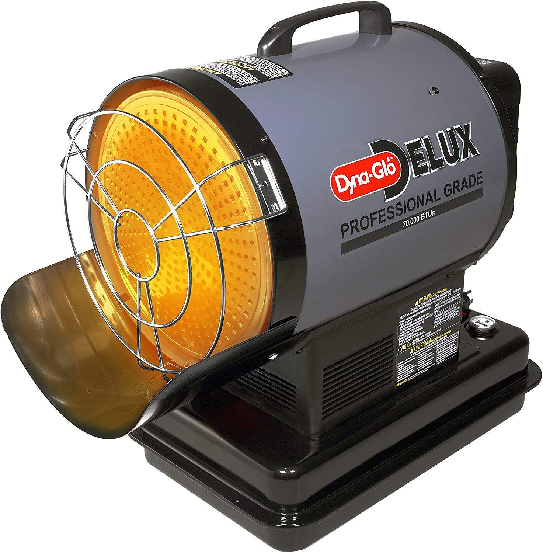 DynaGlo SF70DGD Delux 70000 BTU Kerosene/Radiant Forced