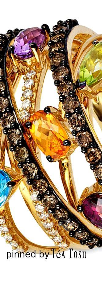 Le Vian, Multi-Stone, Chocolate & Vanilla Diamonds®,set in 14k…