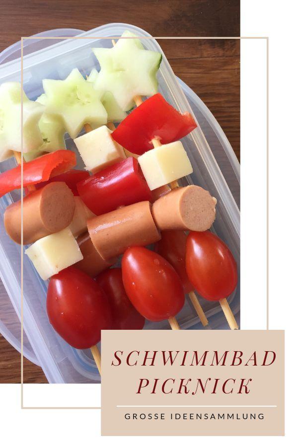 Picknick Ideen & Rezepte für Familie und Kindern