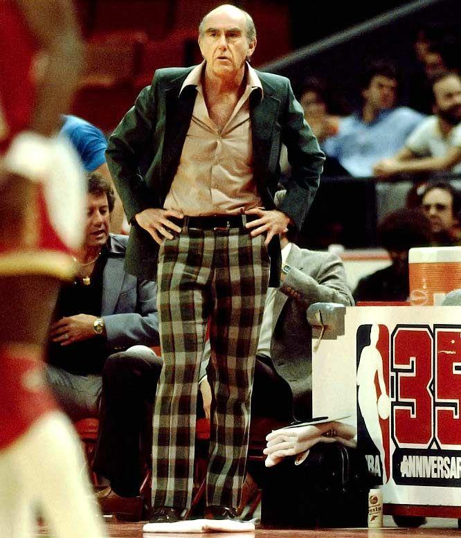Portland Trail Blazers Coaching Staff: Dr. Jack Ramsey, A Fine Coach But A Questionable Dresser