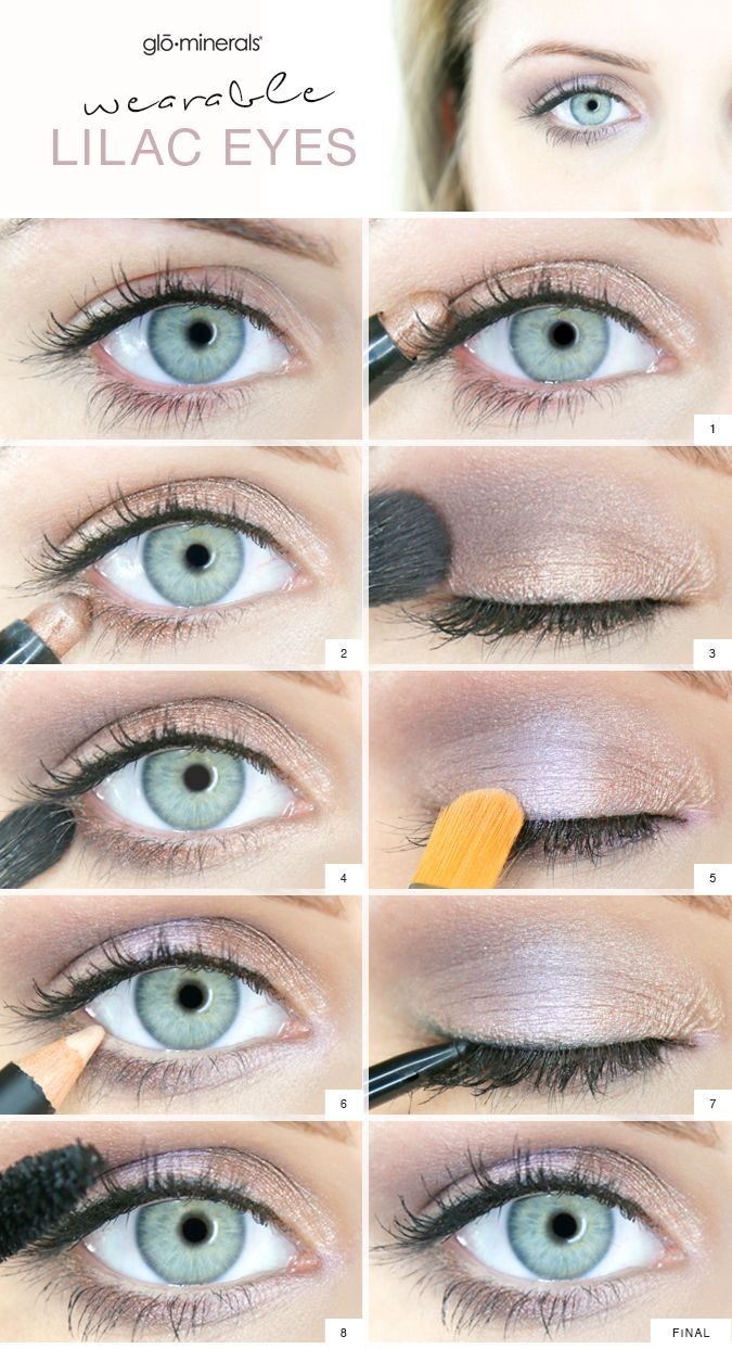 Lilac Eyes Wearable Pastel Makeup For Spring With Images