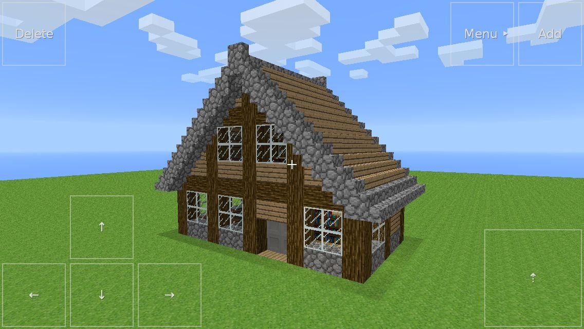 Minecraft 2 Story Village House Minecraft House Designs Village Houses Minecraft House Tutorials
