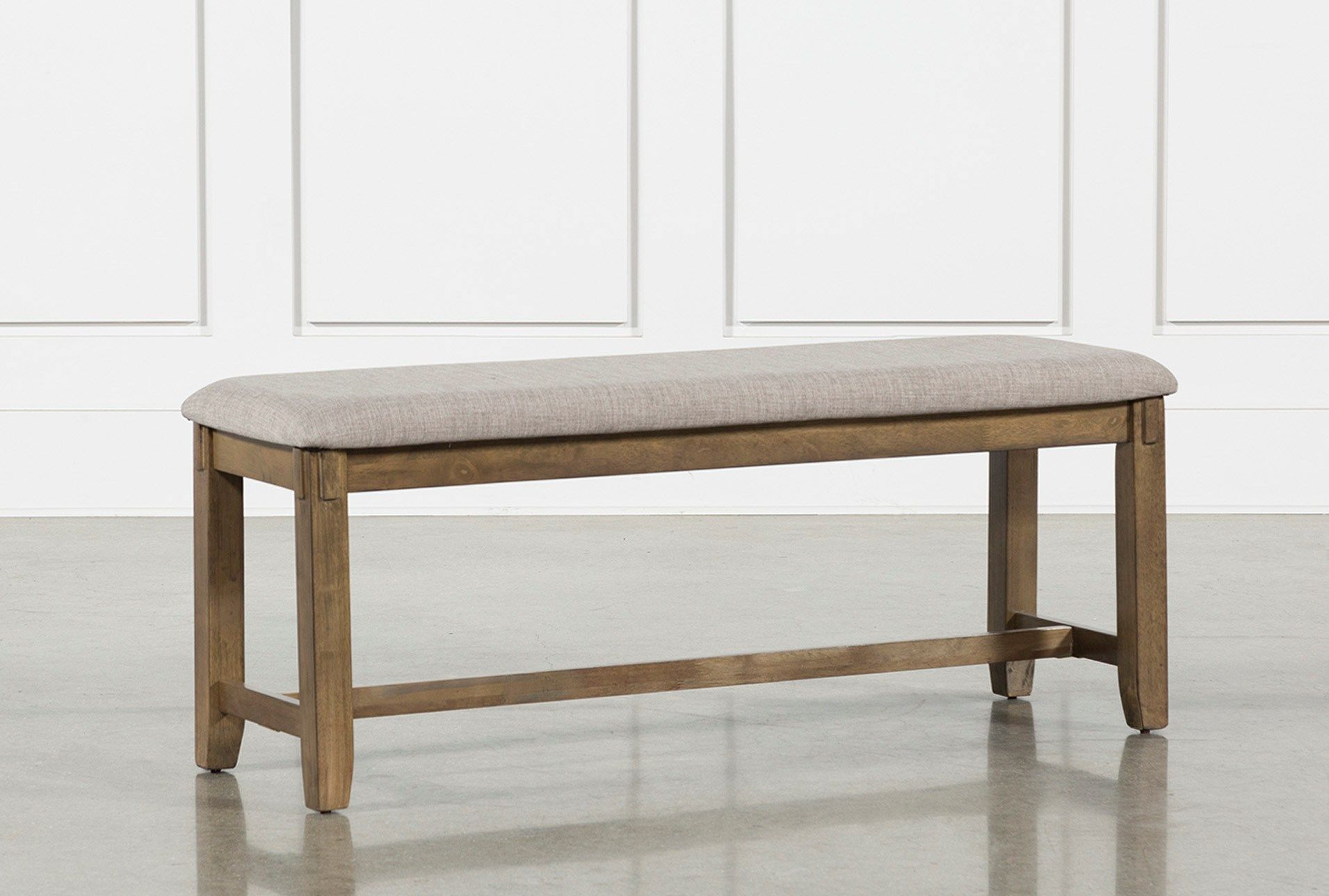 Kirsten Dining Bench In 2020 Wood Dining Bench Upholstered Seating Dining Bench