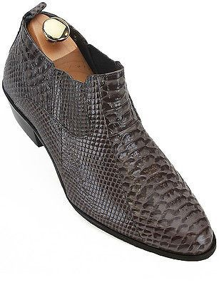 Shoes Confident Men Formal Snake Handmade Leather Shoes Skin Snakeskin Italy Burgundy Python Tassel Italian Dress Alligator Loafers Crocodile Goods Of Every Description Are Available