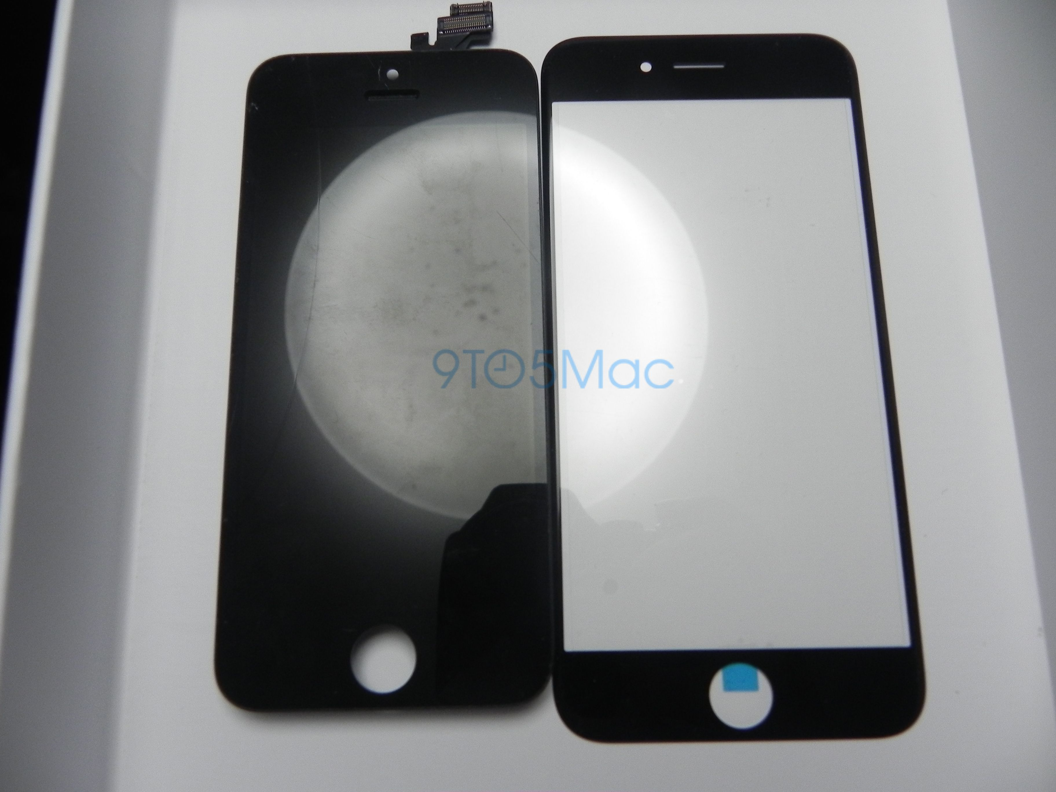 First Comparison Photos Of Black And White 4 7 Inch Iphone 6 Screen Glass Gallery Teknologi