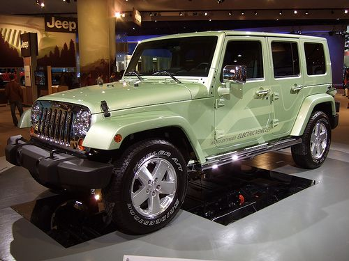 Jeep Wrangler Unlimited Ev Jeep Wrangler Unlimited Jeep Concept