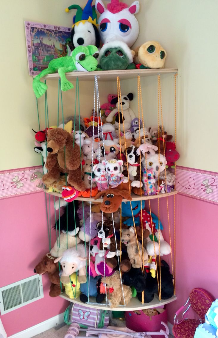My Husband S Solution To My Daughter S Stuffed Animal Obsession Animal Zoo Love The Stuffed Animal Storage Stuffed Animal Storage Diy Stuffed Animal Displays