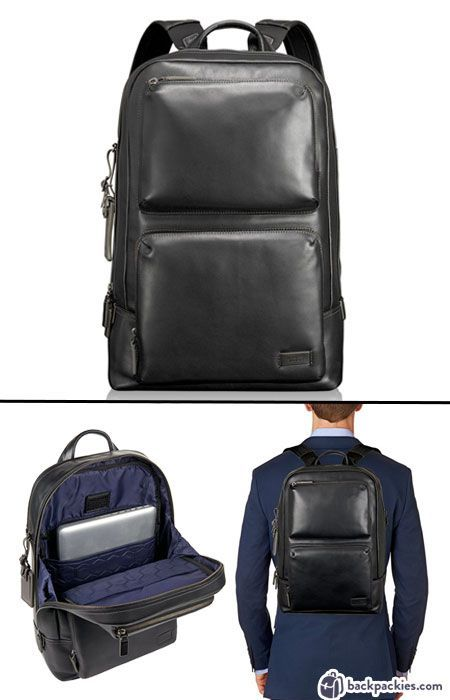 363f34d25e58 Tumi Harrison Archer backpack for men - Perfect work backpack to wear with  a suit -. Read it