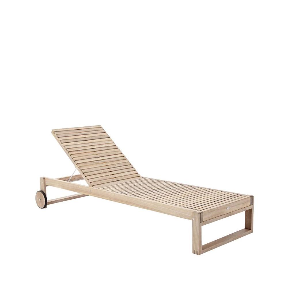 Lezak Ogrodowy Solaris Drewniany Naterial Lezaki Lezanki Ogrodowe W Atrakcyjnej Cenie W Sklepach Leroy Merlin Outdoor Furniture Outdoor Decor Furniture