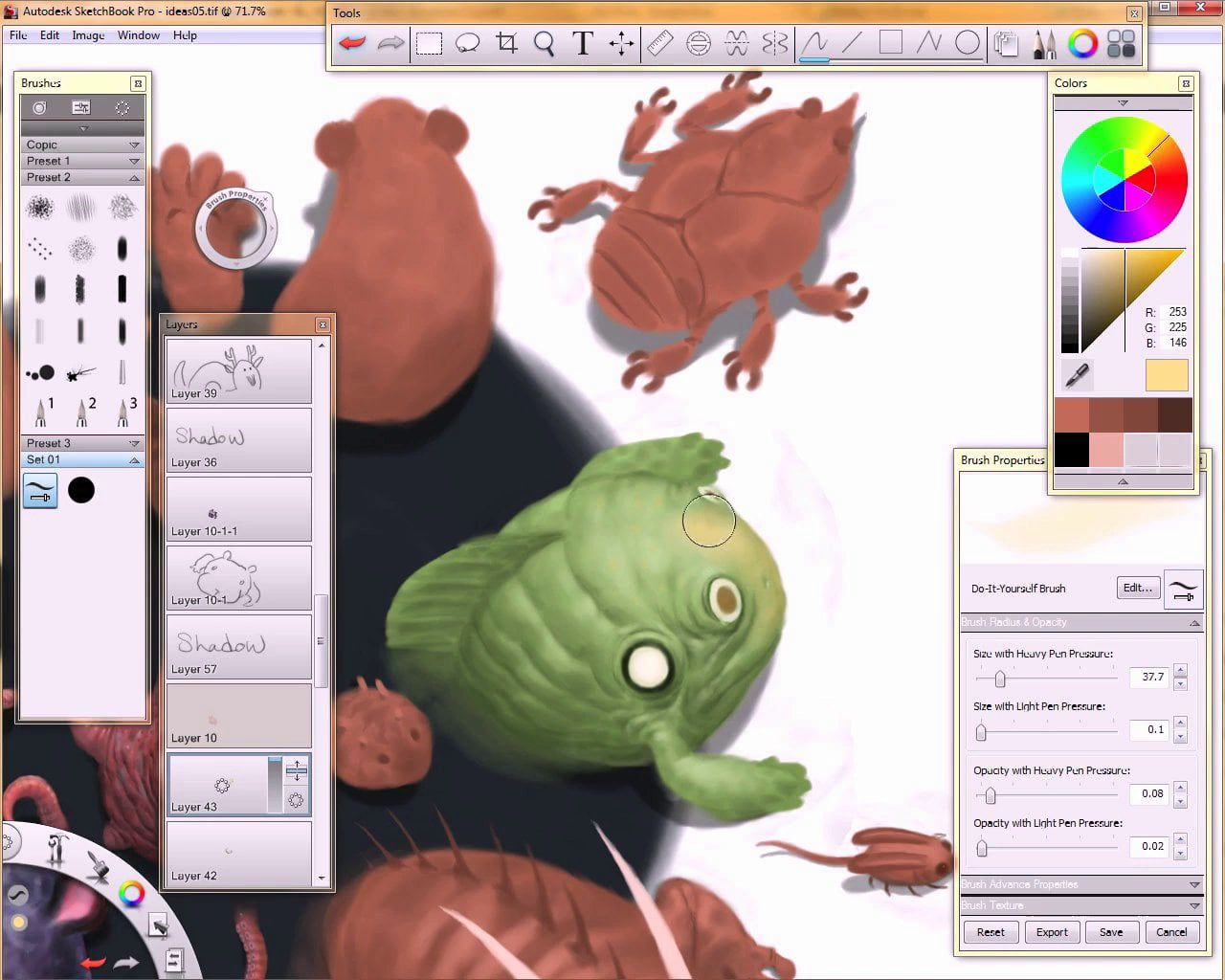 How to create grid in sketchbook pro - Painting In Sketchbook Pro With Bobby Chiu